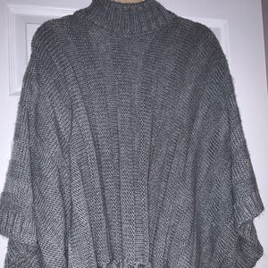 Forever 21 gray poncho